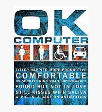 Radiohead - OK COMPUTER Photographic Print