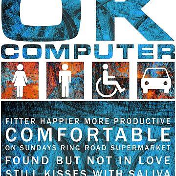 Radiohead - OK COMPUTER by TM490