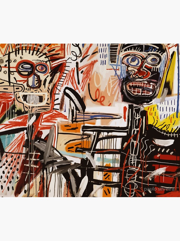A vectorised Basquiat by hypnotzd