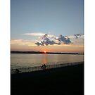 Sunset, New York, New York City, Brooklyn, #NewYork, #NewYorkCity, #Brooklyn, Verrazano Narrows Bridge, #VerrazanoNarrowsBridge, #VerrazanoBridge, #bridge, #Verrazano, #Narrows, #Sunset by znamenski