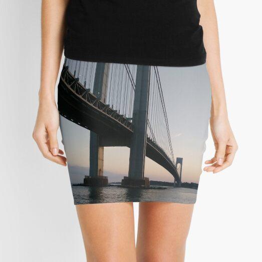 New York, New York City, Brooklyn, #NewYork, #NewYorkCity, #Brooklyn, Verrazano-Narrows Bridge, #VerrazanoNarrowsBridge, #VerrazanoBridge, #bridge, #Verrazano, #Narrows, Verrazano-Narrows Bridge Mini Skirt