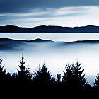The misty Mountains by Imi Koetz