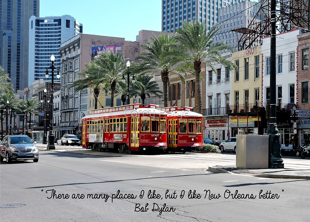 New Orleans Street Cars by Corey Paige