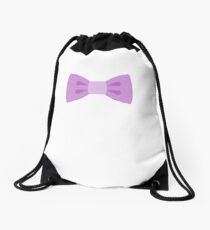Bow Tie Emoji Drawstring Bag