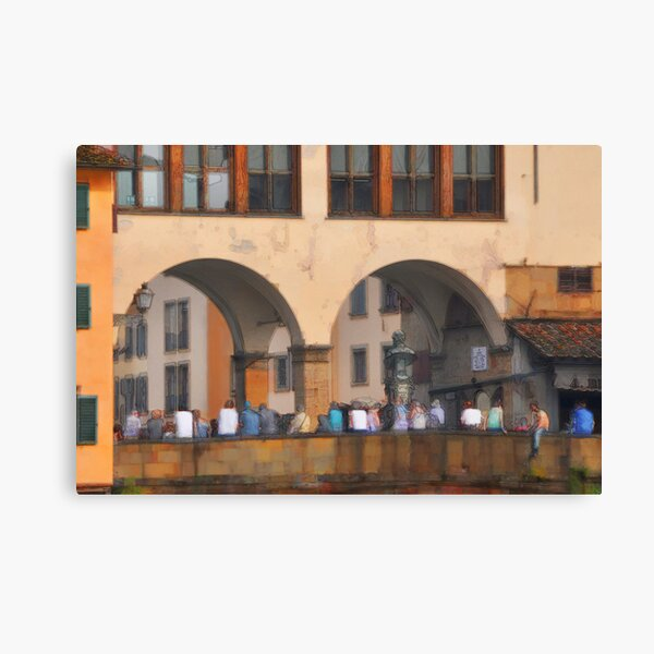 Bridge over the Arno Canvas Print