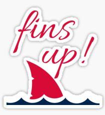 Fins Up | Landsharks Sticker