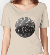 Bad Moon - White Women's Relaxed Fit T-Shirt