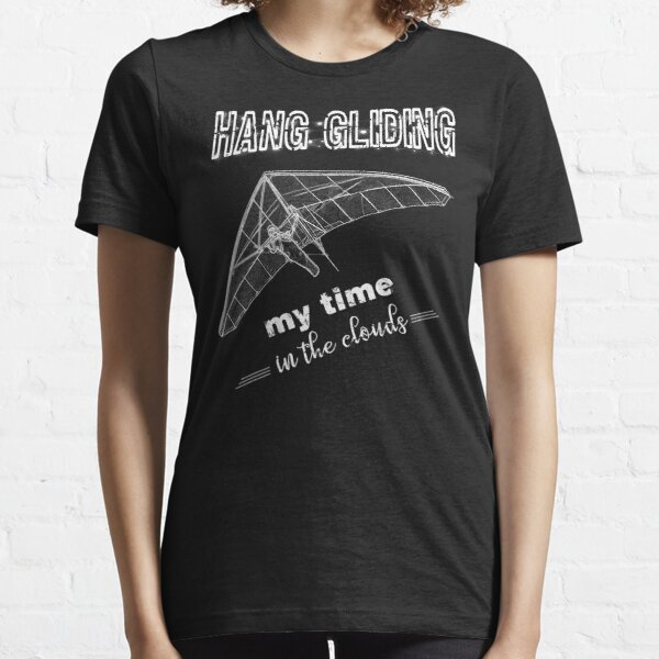 Hang Gliding Sketch and Quote Essential T-Shirt