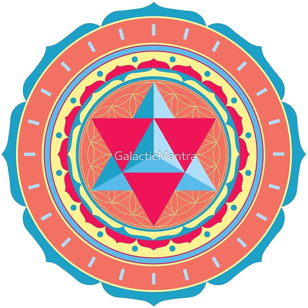 Merkaba Mandala by GalacticMantra