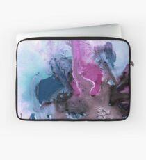Abstrakte Aquarellmalerei Laptoptasche