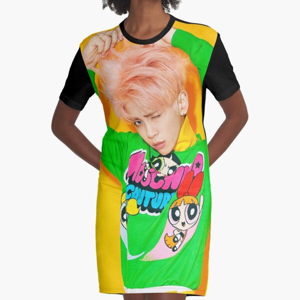 SHINee JONGHYUN SHE IS Graphic T-Shirt Dress