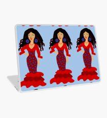 Flamenco girl Laptop Skin