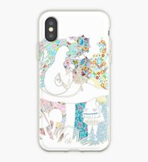 Alice In Wonderland Who Are You? iPhone Case