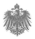 Vintage German Imperial Eagle, with Prussian Eagle on its chest, era of 1888 to 1918 by edsimoneit