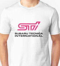 Camiseta ajustada LOGOTIPO STI