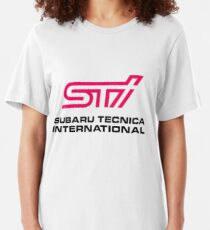 STI LOGO Slim Fit T-Shirt