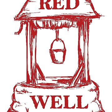 12 Affen - Red Well Bookstore-Logo von seeleybooth