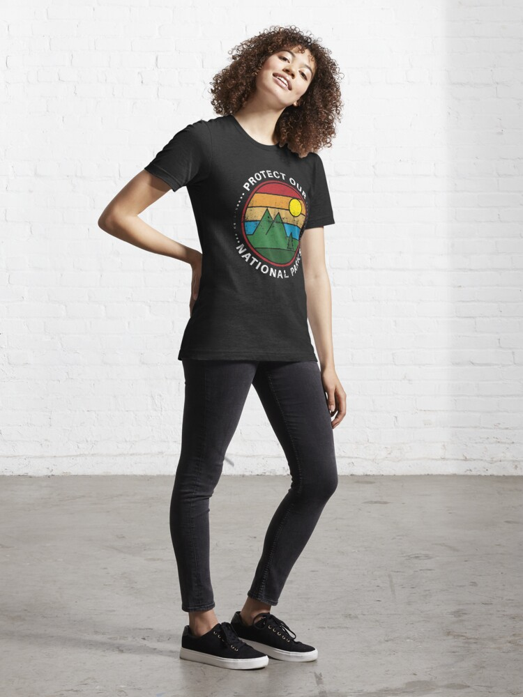 Alternate view of Protect Our National Parks - National Parks Gift Essential T-Shirt
