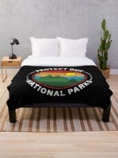 Protect Our National Parks - National Parks Gift Fleecedecke