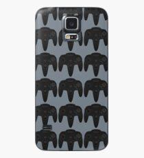 N64 Black Controller - Nintendo 64 Retro Design Case/Skin for Samsung Galaxy
