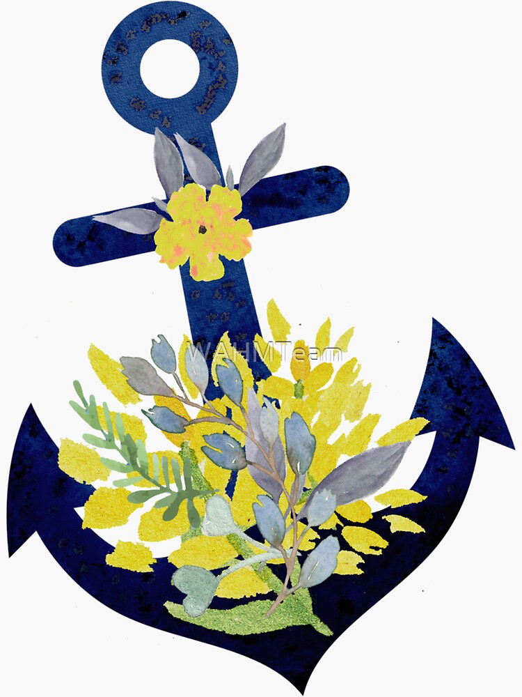 Floral Anchor Design by WAHMTeam
