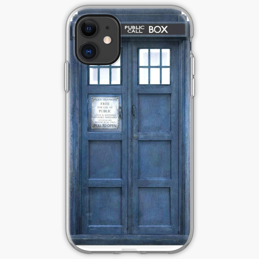 Dr. Who Tardis iPhone Case & Cover