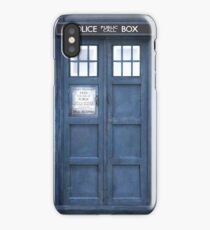 Dr. Who Tardis iPhone Case/Skin