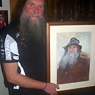 The Subject and the Painting - 'Portrait of Graeme' by Lynda Robinson