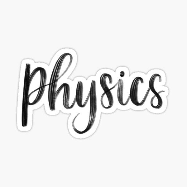 Physics - Folder/Binder Sticker Sticker