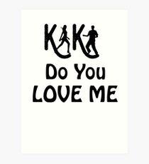 KIKI Do You Love Me T Shirt 2018 - Kiki Dance Challenge  Art Print