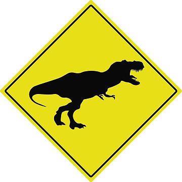 T-Rex Crossing by spirituart