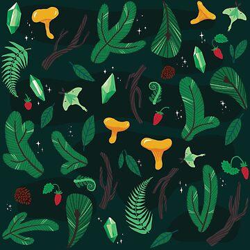 Smaragdwald von hellocloudy
