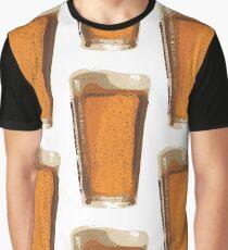 Pint of Beer, Beer Art, Brewing, Bar Art, Pub Graphic T-Shirt