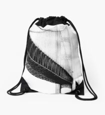 Bridge Towers Drawstring Bag