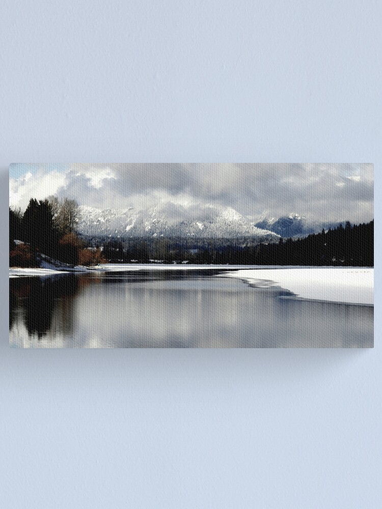 Alternate view of Reflections on the Lake Canvas Print