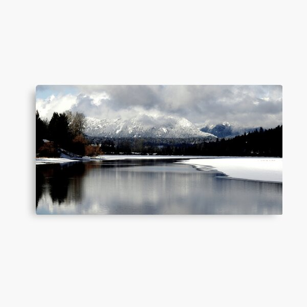 Reflections on the Lake Canvas Print
