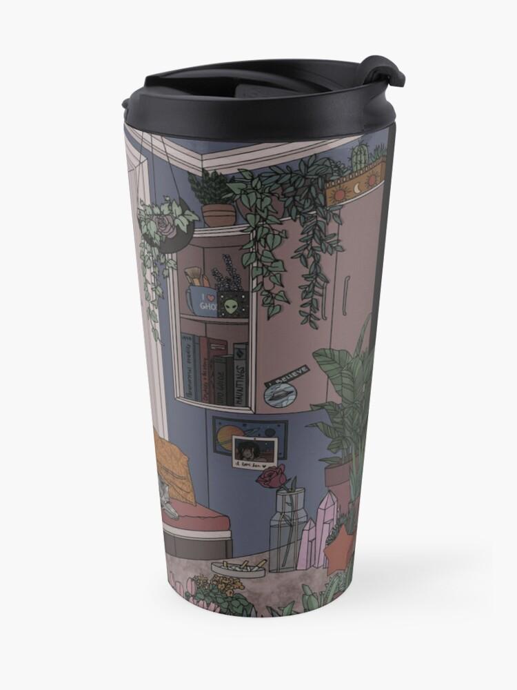 Alternate view of Dusk- Redrawn Travel Mug