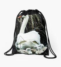 Following mom II Drawstring Bag