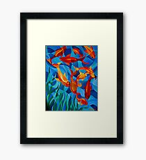 Under the Water Framed Print