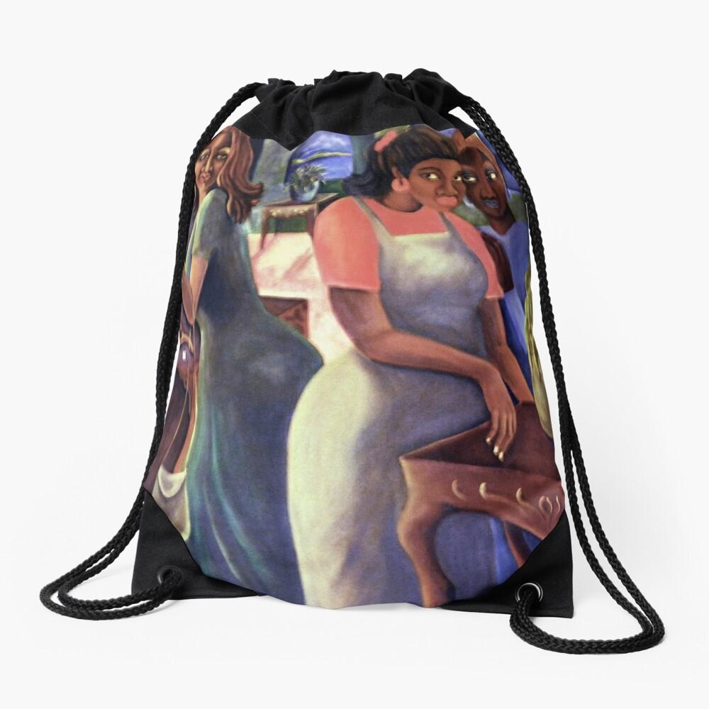 Gossip II Drawstring Bag
