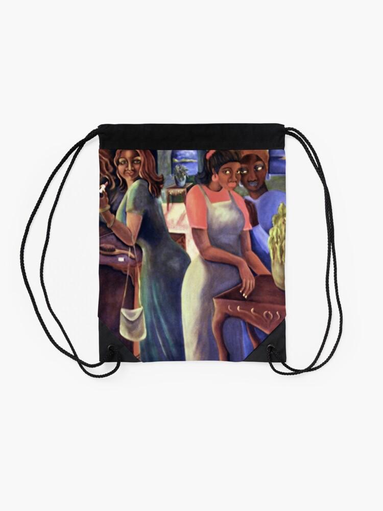 Alternate view of Gossip II Drawstring Bag