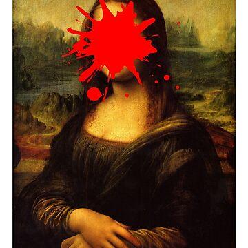 Mona Lisa Splatt by AndrewsGamarra
