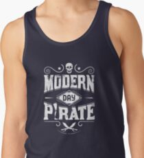 Modern Day Pirate - Amputee Gift Tank Top
