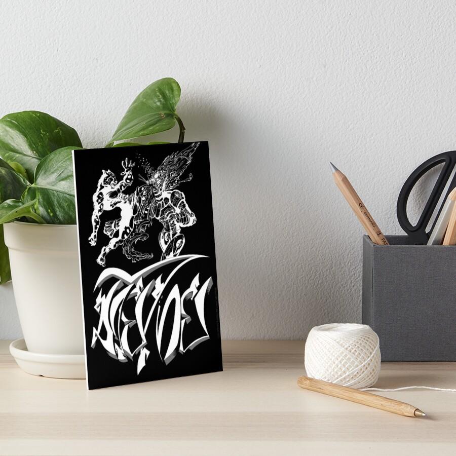 Muay Thai Cheetah vs Boxer Robot V2 Art Board Print