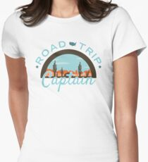 Road Trip Captain Fitted T-Shirt