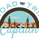 Road Trip Captain by bigfatdesigns