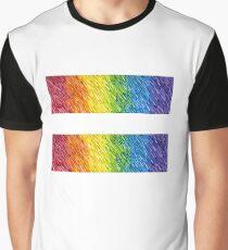 Rainbow Rain Equal Graphic T-Shirt