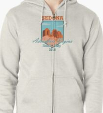 Sedona Adventure Begins Zipped Hoodie
