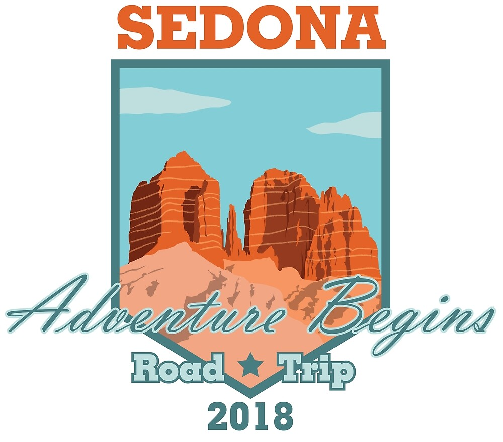 Sedona Adventure Begins by bigfatdesigns