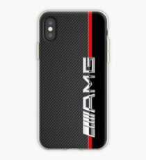 mercedes benz amg logo carbon iPhone Case